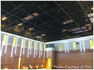 SkyDeck™ View from Below in Bullis School Hall