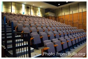 SkyDeck™ Above Bullis School's Retractable Seating