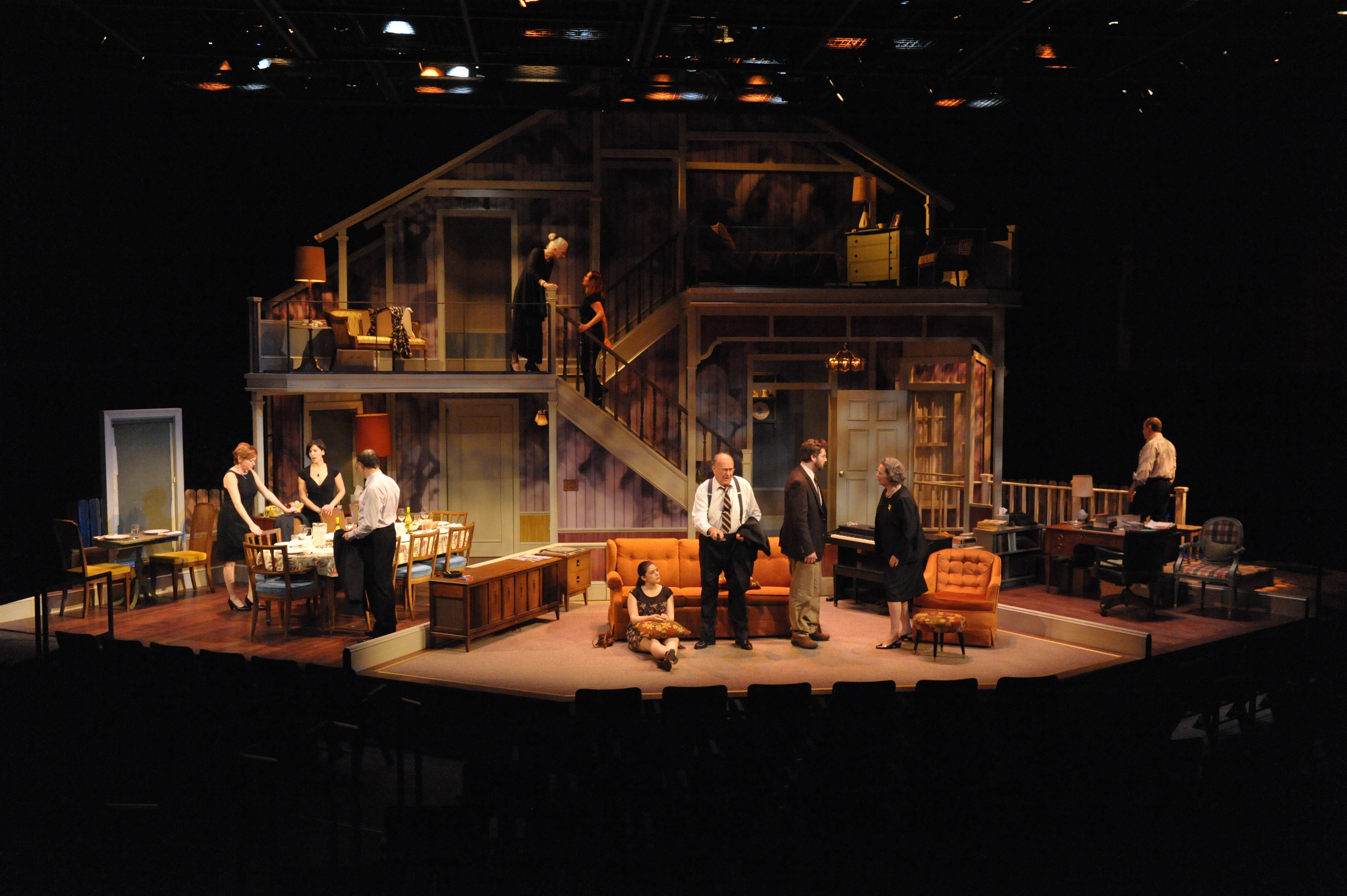 """""""August: Osage County"""" at Everyman Theatre. January 16 - February 17, 2013."""