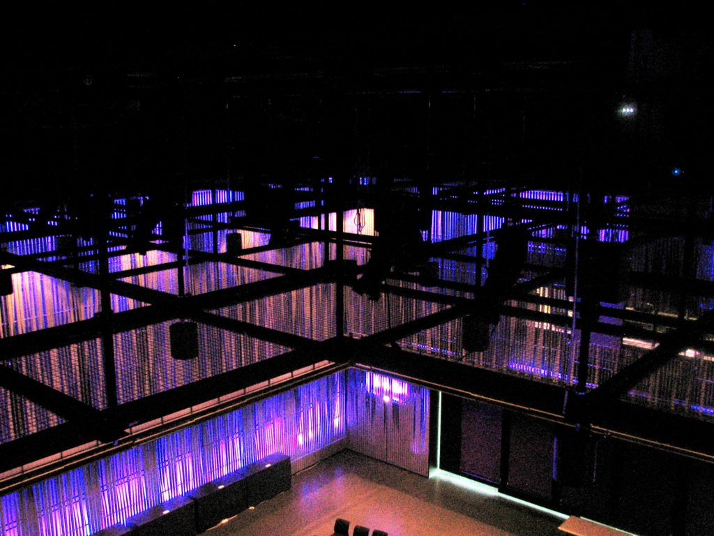 SkyDeck™ Tension Wire Grid for HARPA Reykjavic Iceland Concert Hall