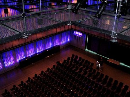 SkyDeck™ Tension Wire Grid for HARPA Reykjavic Iceland Concert Hall