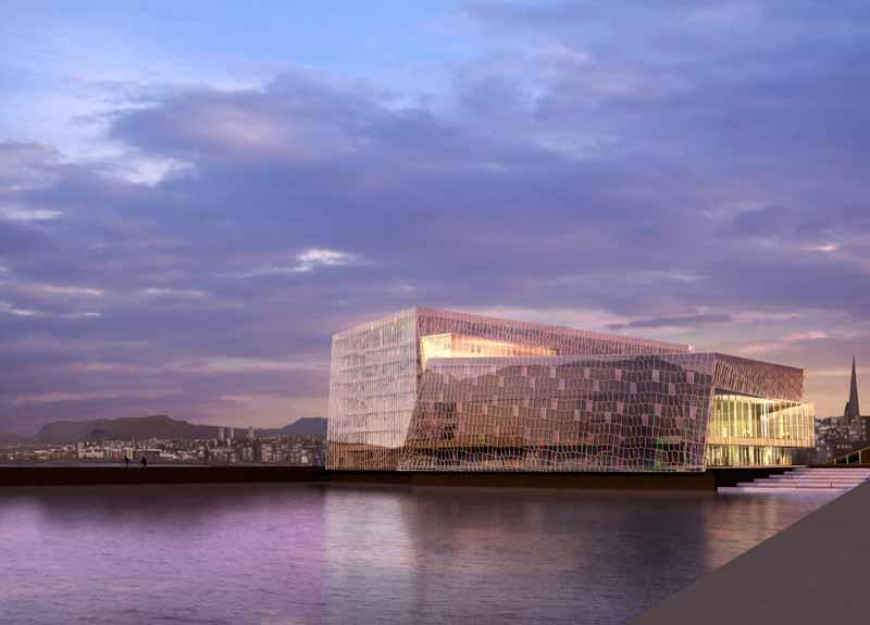 Reykjavik Iceland Concert Hall and Conference Center