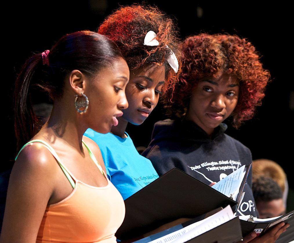 Duke Ellington School of the Arts_Four Little Girls_Nielsen Photography_website