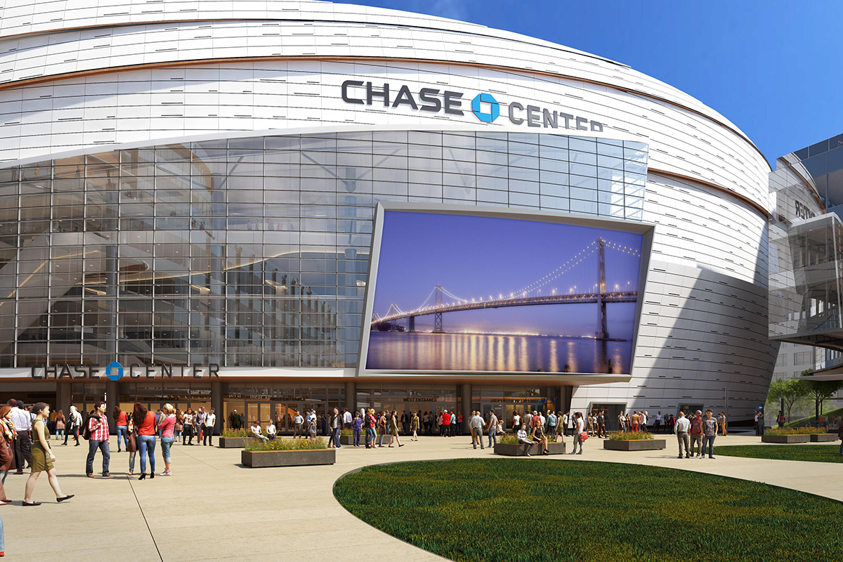 Chase Center exterior