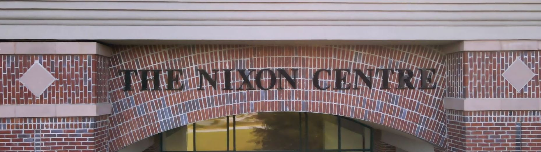 The entrance to the Nixon Centre's renovated facility in Newnan, GA. Image courtesy of the Coweta County School System.